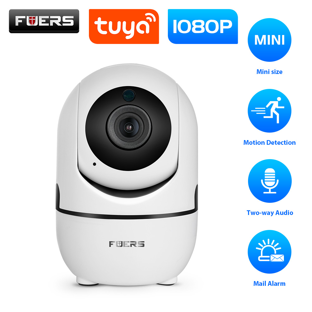 Fuers HD 1080P IP Camera Tuya APP Baby Monitor Home Security Indoor Camera Surveillance CCTV Mini Wireless Camera WiFi Camera