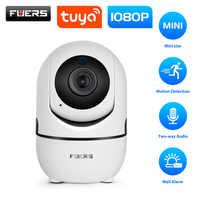 Fuers hd 1080 p câmera ip tuya app monitor do bebê de segurança em casa indoor câmera de vigilância cctv mini câmera sem fio wi-fi câmera