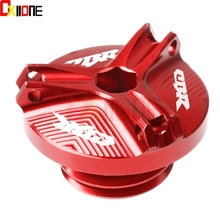 Motorcycle M20*2.5 Engine Oil Filter Cup Plug Cover Screw For Honda CBR 600 610 F 900 1000 RR F2 F3 F4 F4i 250R