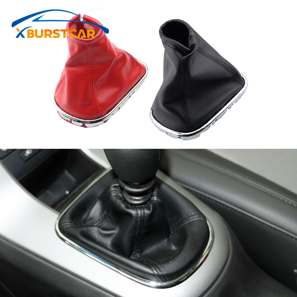 1Pc Car Gear Shift Stick Gaiter Boot Leather Dust-proof Cover for <font><b>Chevrolet</b></font> <font><b>Cruze</b></font> <font><b>2009</b></font> 2010 2011 2012 2013 <font><b>2014</b></font> Accessories image