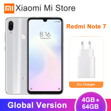 In Stock Global Version Xiaomi Redmi Note 7 4GB 64GB Smartphone Snapdragon 660 6.3'' Full Screen 48MP+5MP AI Dual Camera 4000mAh(China)