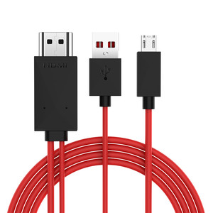 Image 2 - 1080P 11 pin Micro USB to HDMI Cable with Video Audio Output for Samsung Galaxy S3 S4 S5 Edge Note 3