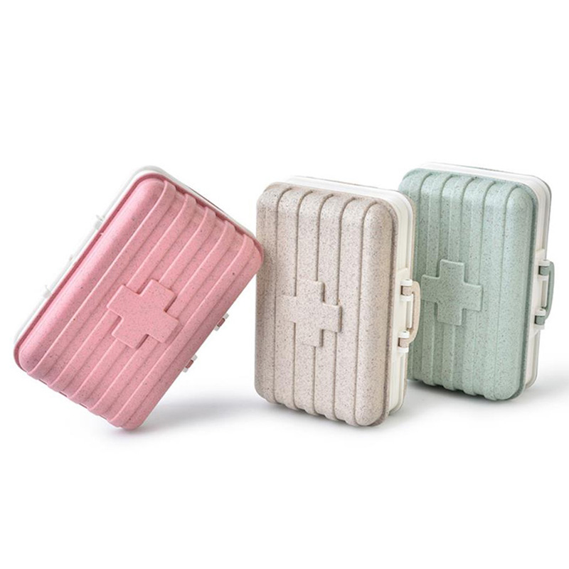 Mini Medicine Pill Box Outdoor Camping Medical Bag Tactical Military First Aid Kit Family Care Travel Car Emergency Survival Kit