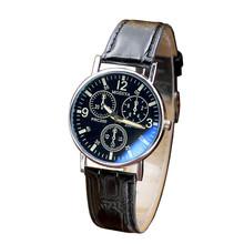Zegarki kwarcowe sześć pinów zegarki kwarcowe męskie zegarki niebieskie szkło pas zegarki mężczyźni darmowa wysyłka prezenty reloj mujer tanie tanio ISHOWTIENDA 24cm simple QUARTZ NONE Nie wodoodporne Klamra CN (pochodzenie) ALLOY 10mm Nie pakiet Skórzane 38mm Watch 20mm