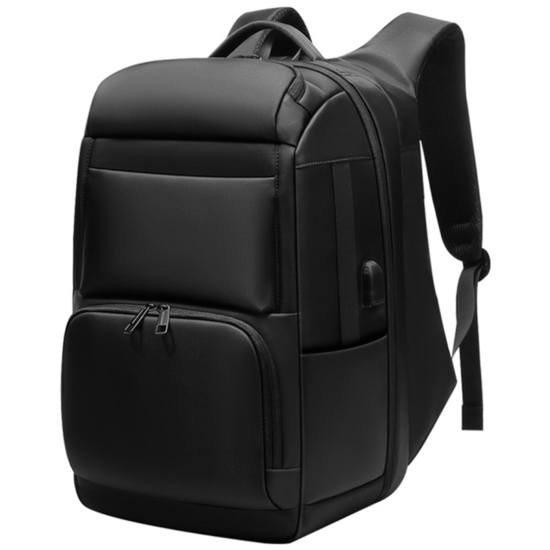 Men'S Travel Backpack Large Capacity Juvenile Male Anti-Theft Bag Usb Charging Waterproof 17-Inch Computer Backpack