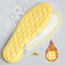 1pairs Original Thermal insoles Imitation Wool Felt Sheep Fur Warm Heated Winter shoe Insoles For Women Man Boots Insert