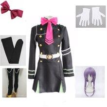 Shinoa Cosplay Seraph Japanese-Seraph-Anime Costumes Complete-Uniform Ensemble The-End