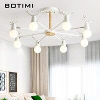 Botimi 3 조명 금속 led 샹들리에 거실 녹색 8 빛 샹들리에 6 회색 침실 나무 부엌 lustres