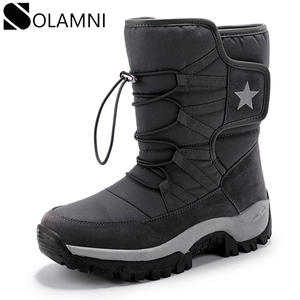 SMens Winter Boots Pl...