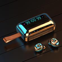 אלחוטי אוזניות F9 11 TWS עמיד למים Bluetooth 5.0 חכם 9D סטריאו אוזניות עבור טלפון נייד טלפון אביזרי 2020