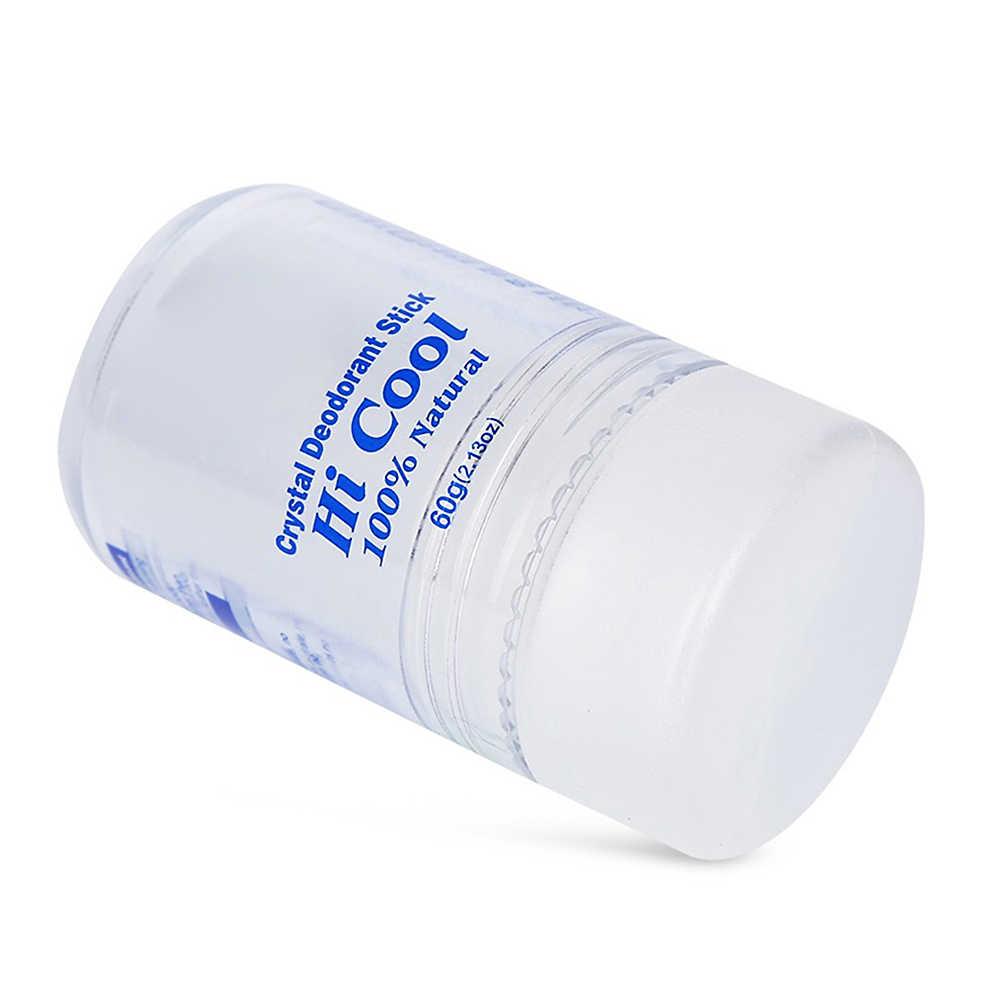 Nouveauté naturel de qualité alimentaire cristal déodorant alun bâton corps O dor dissolvant anti-transpirant pour hommes et femmes 60g