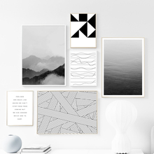 Black White Abstract Quotes Wall Art Print Canvas Painting  Nordic Canvas Posters And Prints Wall Pictures For Living Room Decor цена и фото