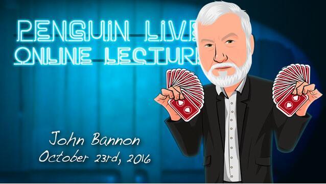 John Bannon Penguin Live ACT MAGIC TRICKS