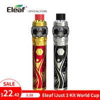 Warehouse Original Eleaf iJust 3 kit with ELLO Duro World Cup 810 Drip Tip HW-M/HW-N built-in 3000mAh E-Cigarette
