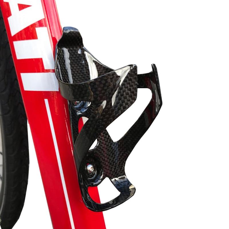New Carbon Fiber bike Bottle Cage Mountain Bicycle water Bottle Holder
