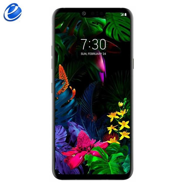 "LG G8 G820UM G820N 128G ThinQ Original Unlocked LTE Android Phone Octa Core 6.1"" 6GB 16MP&12MP Fingerprint NFC smartphone"