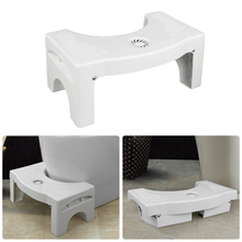 Toilet Stool U-Shaped Squatting Non-Slip Bathroom Chair Foldable Plastic Footstool Squatting Stool Toilet Dropshipping