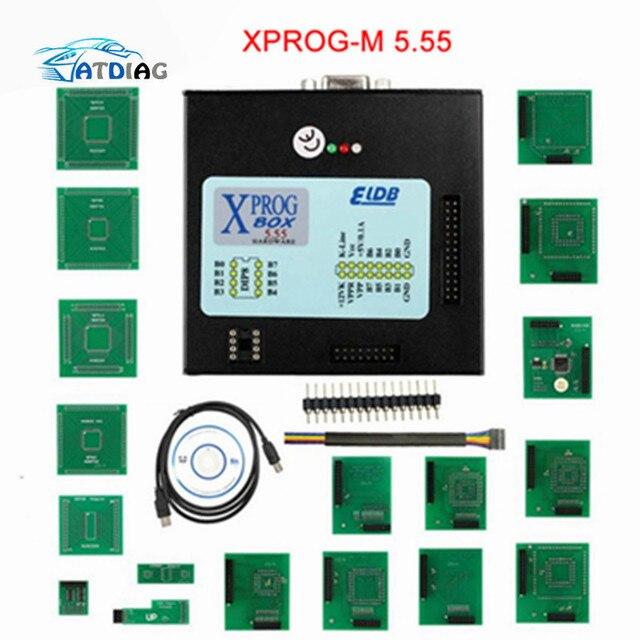 Xprog 5.55 X prog M Box 5.55 Xprog M Box V5.55 ECU Programmer Better Than Xprog M V 5.50