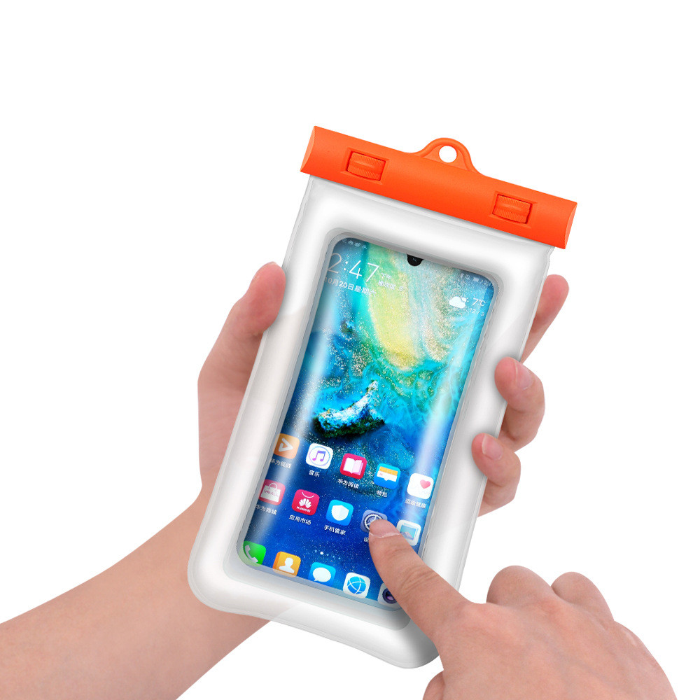 Universal Waterproof Pouch Cell Phones portable <font><b>bag</b></font> Convenient to use lightweight Useful <font><b>Water</b></font> <font><b>proof</b></font> Phone Case <font><b>Water</b></font> Sport image