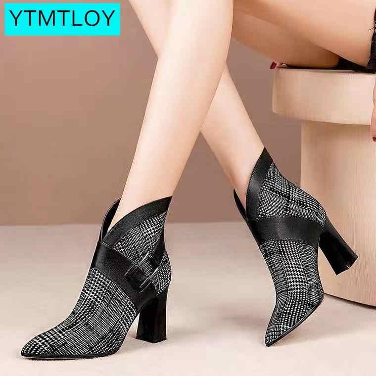 ข้อเท้าสตรีรองเท้า Wedges แพลตฟอร์มฤดูหนาวรองเท้าส้นสูงหญิงรองเท้าเพิ่มรองเท้าแฟชั่นรองเท้า Zapatos Con Cordones