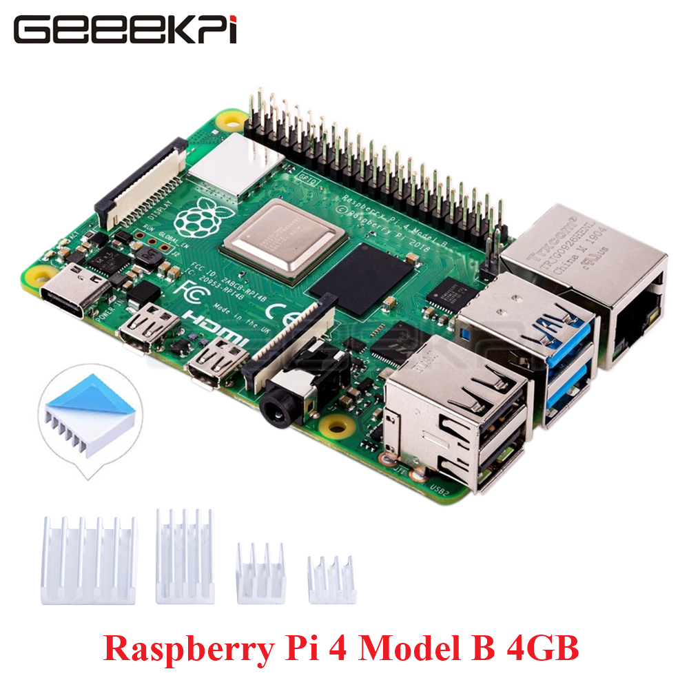 Neue Ankunft <font><b>Raspberry</b></font> <font><b>Pi</b></font> <font><b>4</b></font> <font><b>Modell</b></font> <font><b>B</b></font> <font><b>4GB</b></font> Version RAM Quad core Cortex-A72 (ARM v8) 64-bit SoC @ 1,5 GHz image