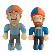 Toy Plush-Doll Blippi Ragdoll Children HONJI 30cm Program English-Enlightenment American