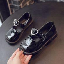 Children Leather shoes Party Dress Flat Kids Shoes Princess