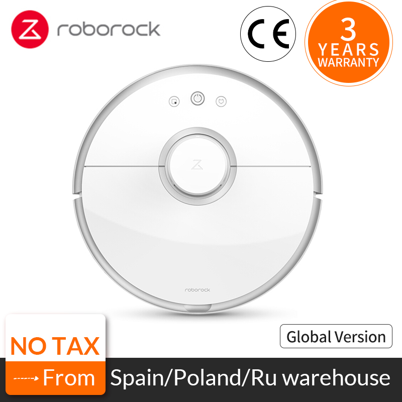 Roborock S50 S55 Xiao mi 2 para Casa Varrendo Esfregar Molhado De Limpeza Robótico Aspirador de pó Poeira mi Inteligente Automático Sem Fio robô