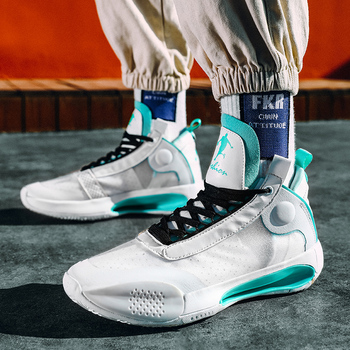 Zapatillas de baloncesto profesionales para Hombre, calzado deportivo acolchado, cómodo