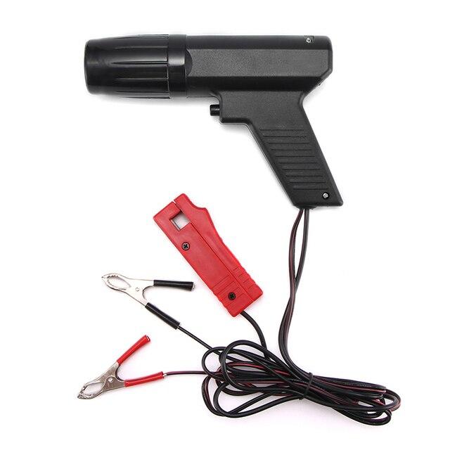 Профессиональный таймер зажигания стробоскоп лампа Индуктивный бензиновый двигатель Автомобиль Мотоцикл ручные инструменты тестер ремонта