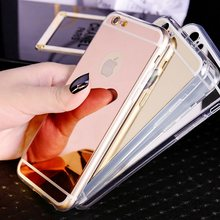 Soft TPU Case for iphone XS MAX X 10 XR 6 6s Plus 7 8 Plus Luxury Plating Mirror Silicone Phone Cover for Apple 5 5s SE(China)