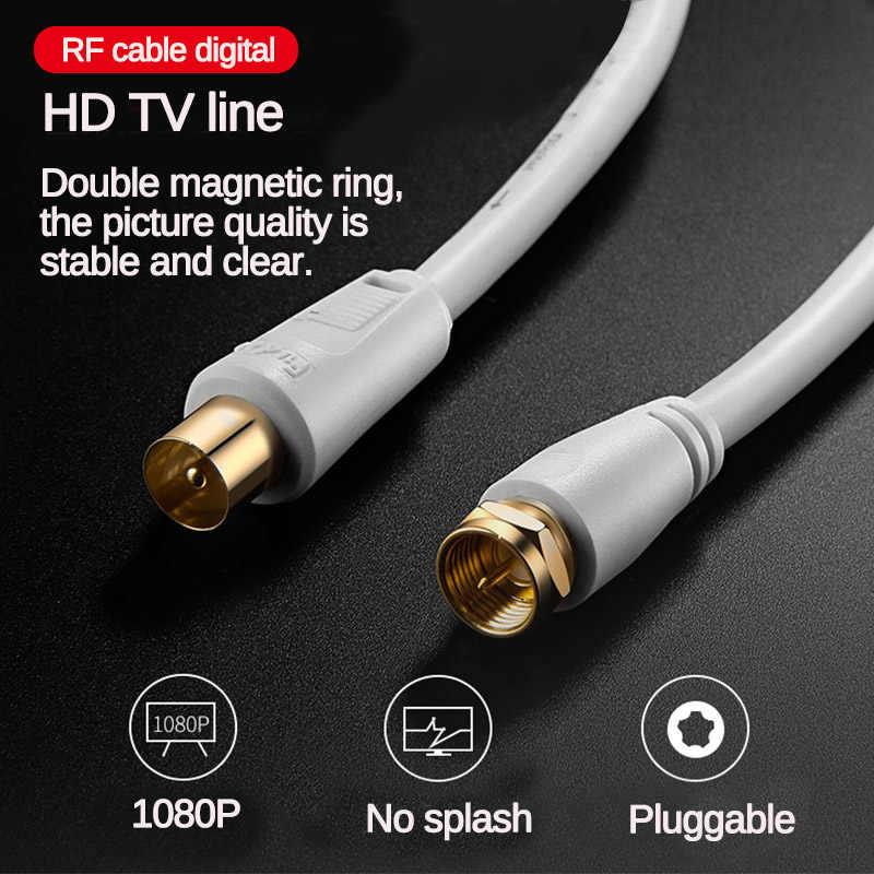 1/1, 8/3/5m HD TV Line Video Cable para televisión de alta definición HD antena de alta calidad TV / M-TV / STB línea de TV Digital