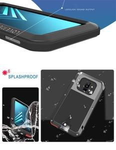 Image 5 - Металлический чехол для samsung Galaxy A5 A3 A7/Alpha противоударный чехол 360 полный корпус защитный чехол для samsung A8 A6 A9 2018 Plus