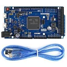 Para arduino com Vencimento em 2012 R3 ARM Versão Placa de Controle Principal SAM3X8E 32-bit ARM Cortex-M3/Mega2560 R3 Duemilanove