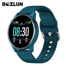 2021 новые умные часы для мужчин и женщин IP67 Водонепроницаемый монитор сердечного ритма браслет для занятий спортом, умные часы с шагомером, д...
