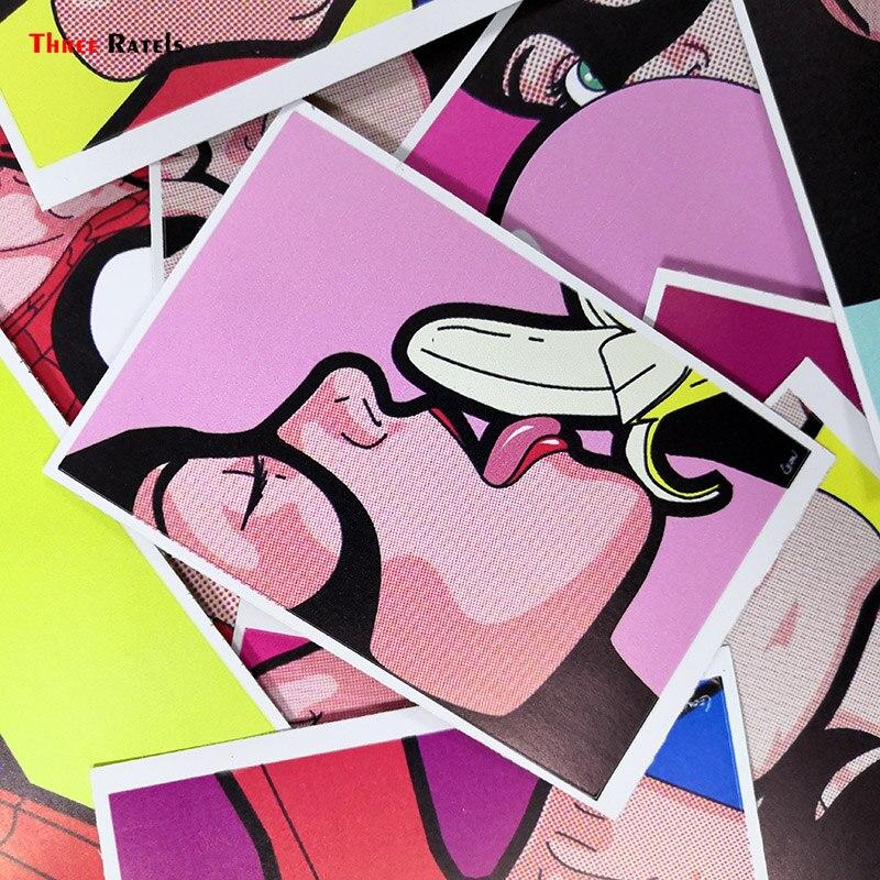 Три крыла Забавный секретный знаменитый супер герой ПВХ водонепроницаемые наклейки для ноутбука автомобиля мотоцикла скейтборда Стикеры ...