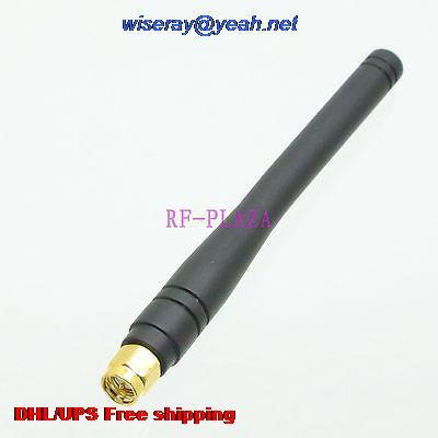DHL/EMS 100 Pcs 2.4G Antenna 2.4GHZ 2.4G 3dBi GPRS GSM SMA Male Plug For Wireless With One Year Warranty-A1