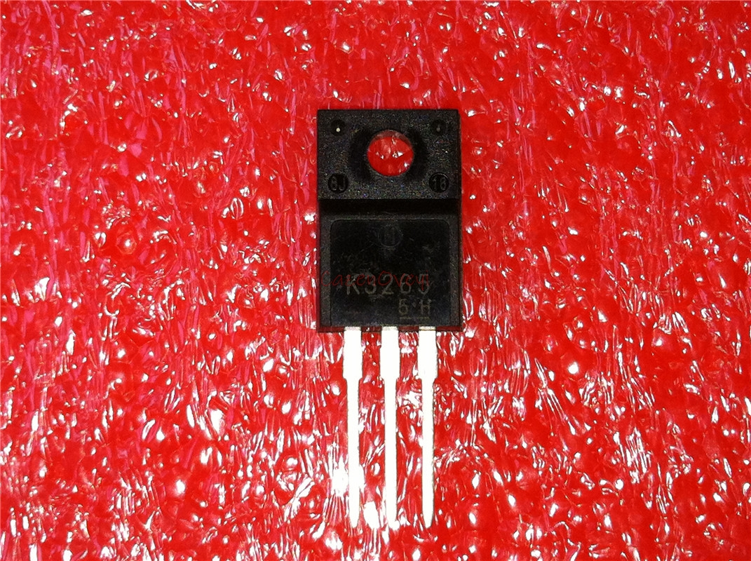 10pcs/lot 2SK3265 K3265 TO-220F 700V 10A In Stock