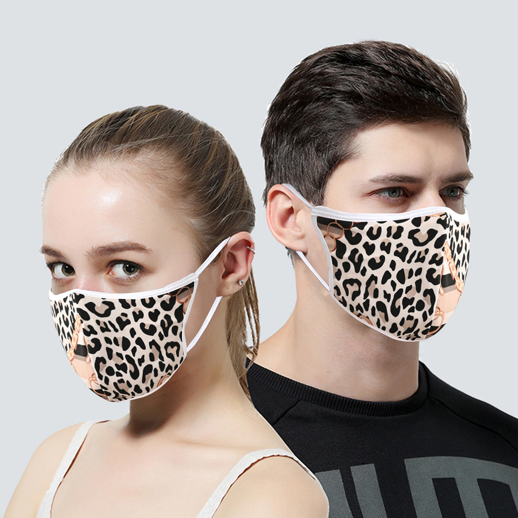 H37cdad4a1df8437b907cdee9f4d0f4b2c In Stock Men Women Adult Outdoor Print Washable Print Breathable Face Cotton Mouth Reusable Earloop Mouth-muffle Health Care