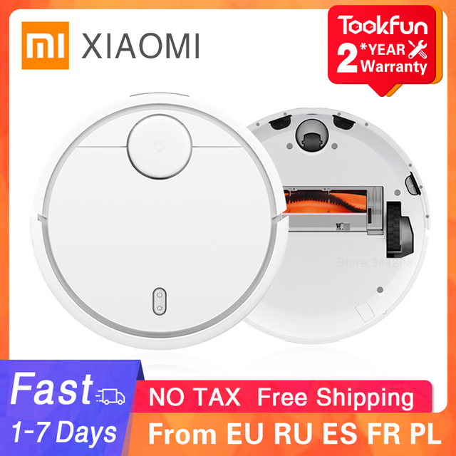 2021 XIAOMI Original MIJIA Robot Vacuum Cleaner for Home Automatic Sweeping Dust Sterilize Smart Planned WIFI App Remote Control 1
