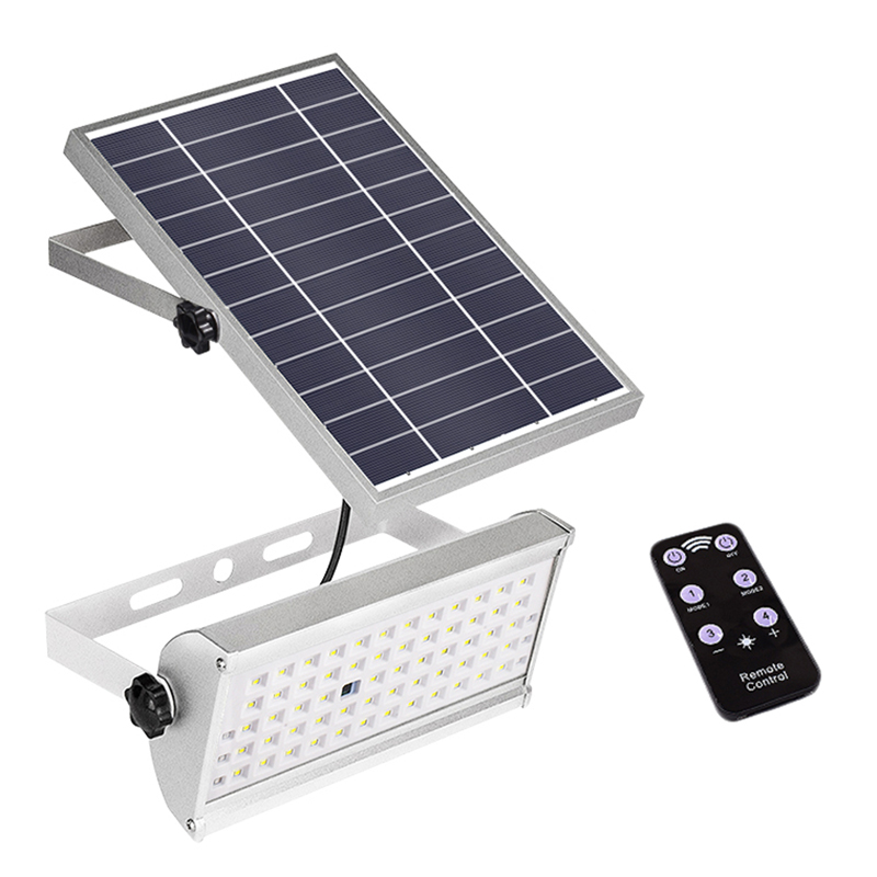ABUI 800Lm Solar Light Outdoor Garden Waterproof Light 46Led Two Working Modes And Remote Motion Sensor Light Solar Lamps     - title=