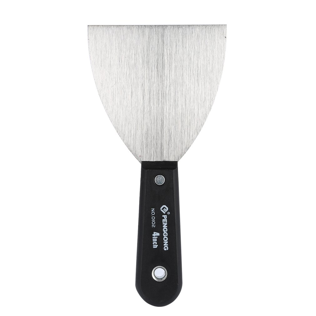 Portable Multifunctional Stainless Steel Putty Knife Flexible Dry Wall Painting Plastering Scraper Painter Tool