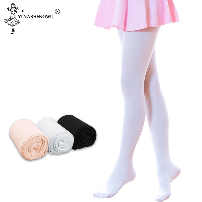 Children Girls Ballet Dance Tights Kid Adult Nylon Leggings Gymnastics Professional Dance Ballet Pantyhose 80D 90D Soft Tights