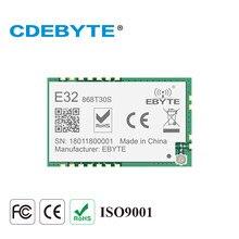 Sx1276 862 module 893mhz 30dbm lora uart transceptor sem fio módulo 8km smd fsk E32-868T30S cdebyte transmitre e receptor