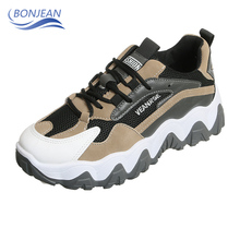 BONJEAN New Women Ultralight Breathable Running Shoes High Quality Outdoor Sports Athletic Sneakers Jogging Walking Female