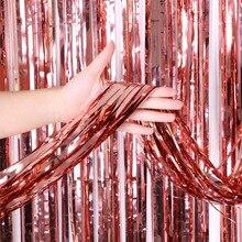 Party dobrodziejstw dekoracje ślubne zaopatrzenie firm Photozone deszcz blichtr folia kurtyna urodziny zasłony ścienne zdjęcie strefa tło