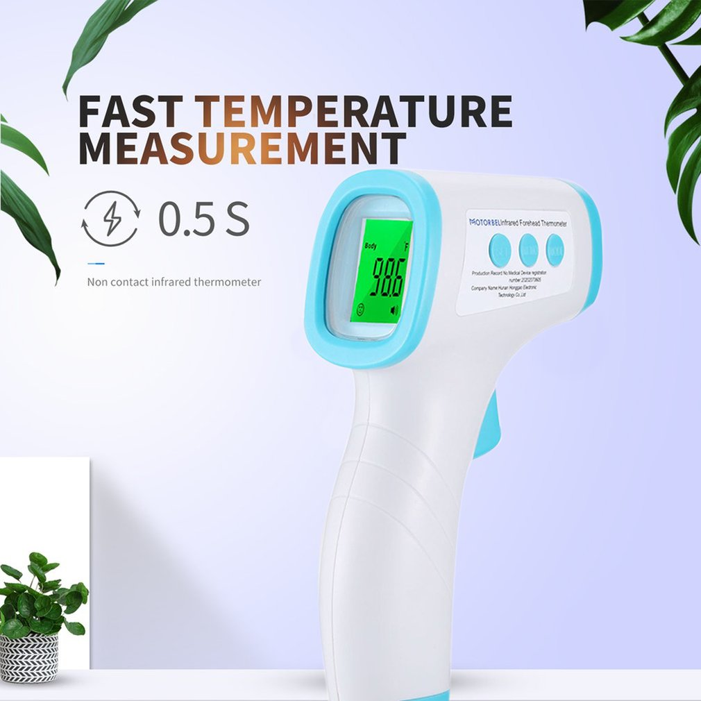 Forehead Thermometer Non Contact Infrared Thermometer Body Temperature Fever Digital Measure Tool for Baby Adult Dropshipping