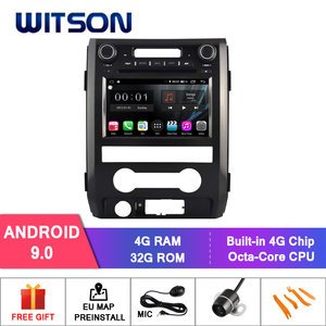 WITSON S300 Android 9.0 CAR DVD for FORD F150 8 Octa Core 4GB RAM 32GB flash GPS AUTO STEREO+GLONASS+WIFI/4G+DSP+DAB+OBD+TPMS(China)