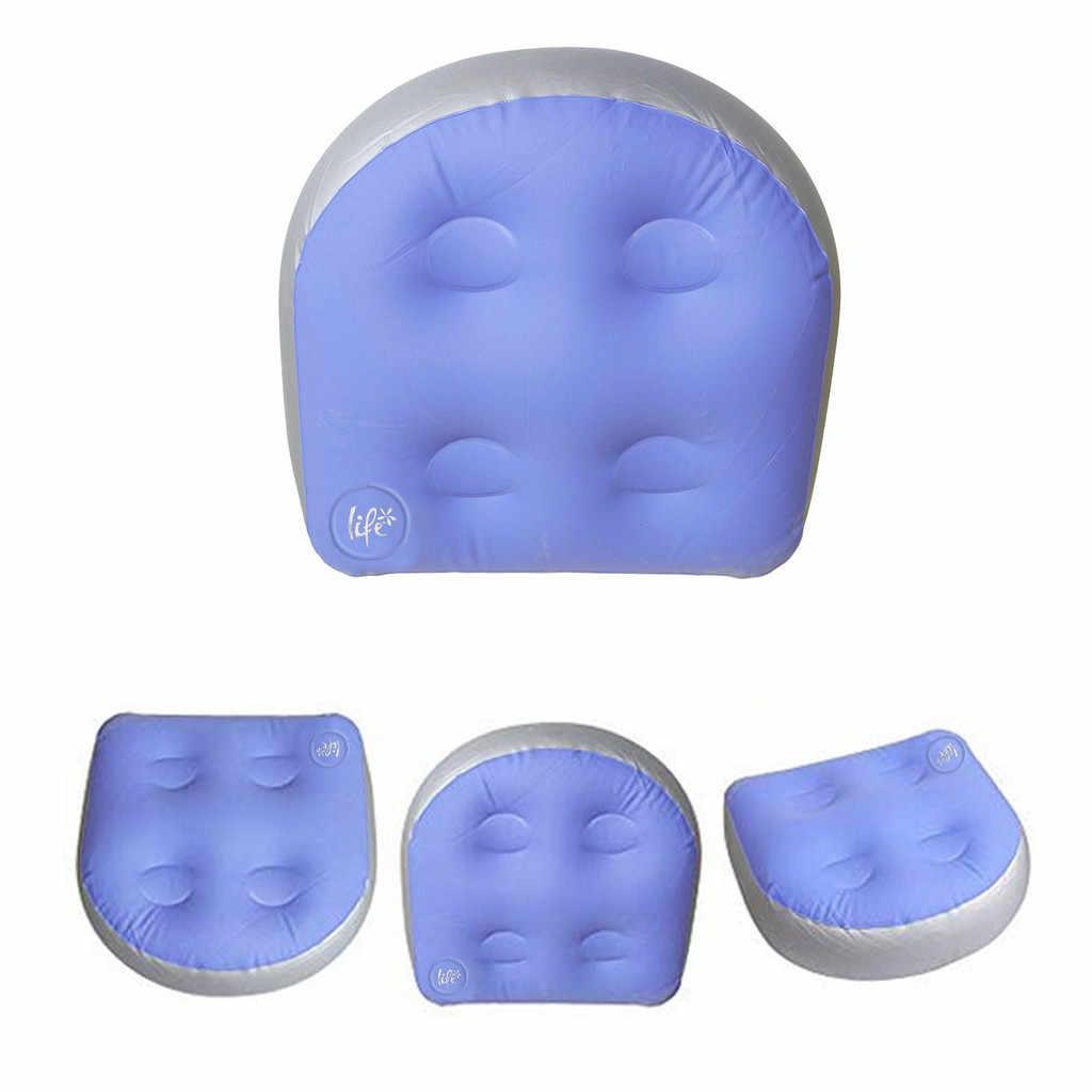 Tapis de Massage 47X37X15cm Spa coussin gonflable bain à remous rehausseur siège doux accueil Spa accessoires dos coussin de détente pour adultes enfants