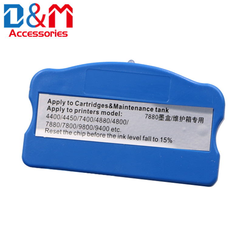 Ink <font><b>Cartridge</b></font> Chip Reset For <font><b>Epson</b></font> Pro4000 4400 4450 4800 4880 7600 7700 <font><b>7800</b></font> 7880 7890 7900 9600 9700 9800 9880 9890 9900 7400 image